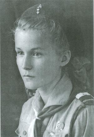 Maria Gordziejko. Isfahan - Persja 1944 r.