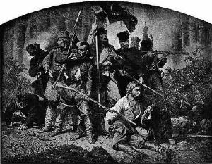 Artur Grottger. Polonia 1863. Bitwa