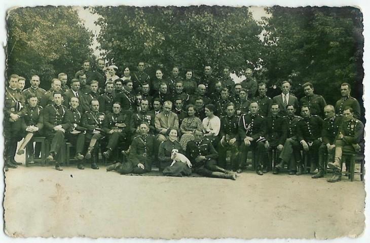 Członkowie Baranowickiego oddziału P.C.K. (ze zbiorów J. Neumann)