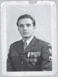 Władysław Szwender, autor wspomnień. 1945 r., Italia