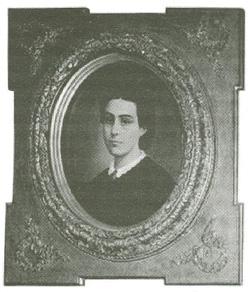 Portret Henrykiety Sotomayor - żony I. Domeyki