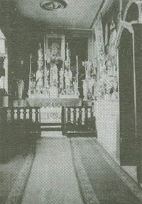 Kaplica w dpmu I. Domeyko w Santiago de Chile
