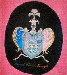 Herb rodowy Domeyków w Domu Domeyki w Santiago