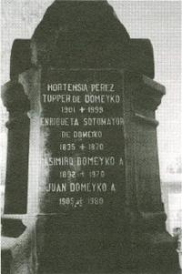 Mauzoleum rodziny Domeyków na Cmentarzu Generalnym w Santiago