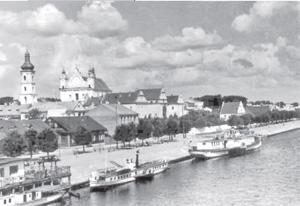 Port rzeczny w Pińsku
