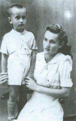 Artur i Natalia Odyńska, lipiec 1945