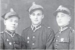 Józef Janowski pierwszy z lewej