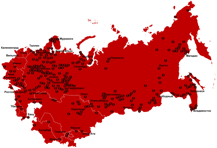Gulag_Location_Map