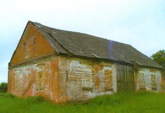 Wieś Ludwinowo, budynek byłej kuchni
