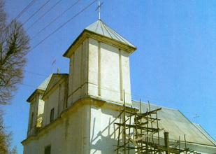 Wieś Signiewicze, kościół
