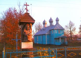 Wieś Wielatycze - ojcowizna Franciszka Sawicza