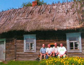Wieś Kudricze, turyści