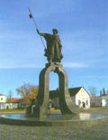 Dawidgródek, pomnik Dawida