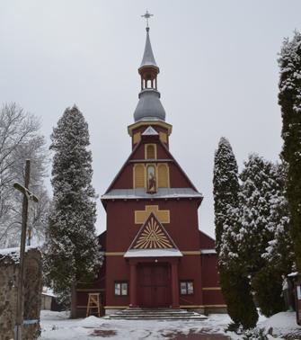 Kościół pw. Podwyższenia Krzyża Świętego w Baranowiczach