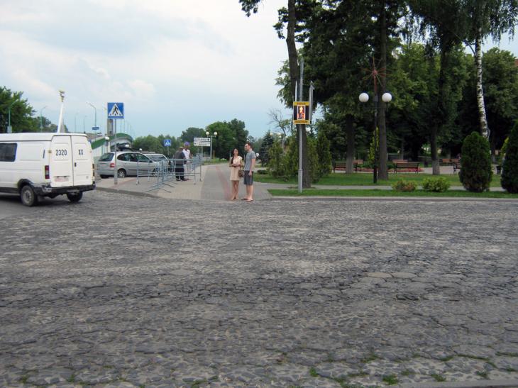 Trylinka w Pińsku