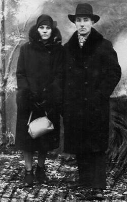 Roman i Zofia Malinowscy (ze zbiorów Dymitra Sitkiewicza). Tak musieli wyglądać w latach 1930-ch eleganckie panowie i panie