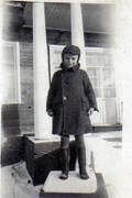 Stanisław Widuchowski jako 7-letni chłopiec