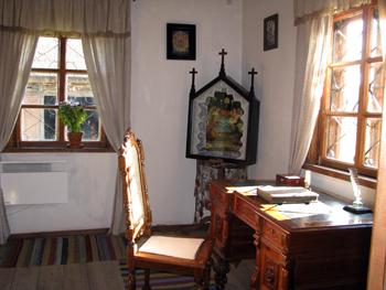 Zaosie. W muzeum A.Mickiewicza