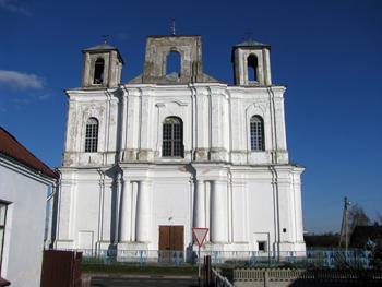 Stołowicze. Stary kościół katolicki, który odwiedzał A.Mickiewicz. (Obec-nie cerkwa prawosławna)