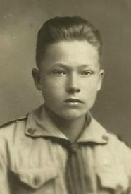 harcerz Grzegorz Byczkowski