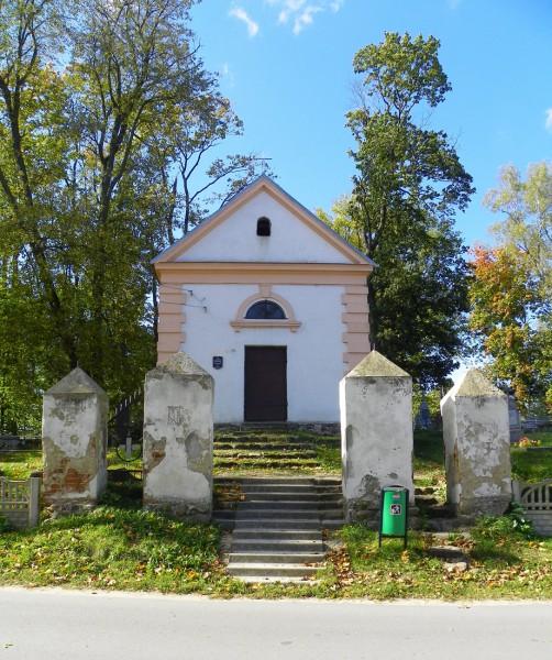 Brama cmentarna i kaplica na rz.-kat. cmentarzu w Prużanie