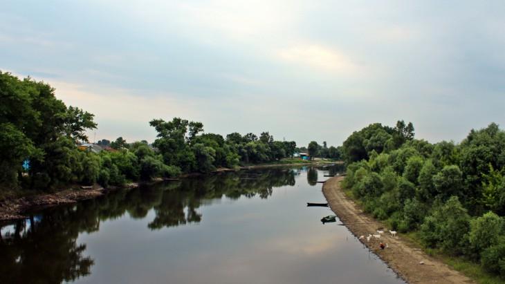 Rzeka Horyń.