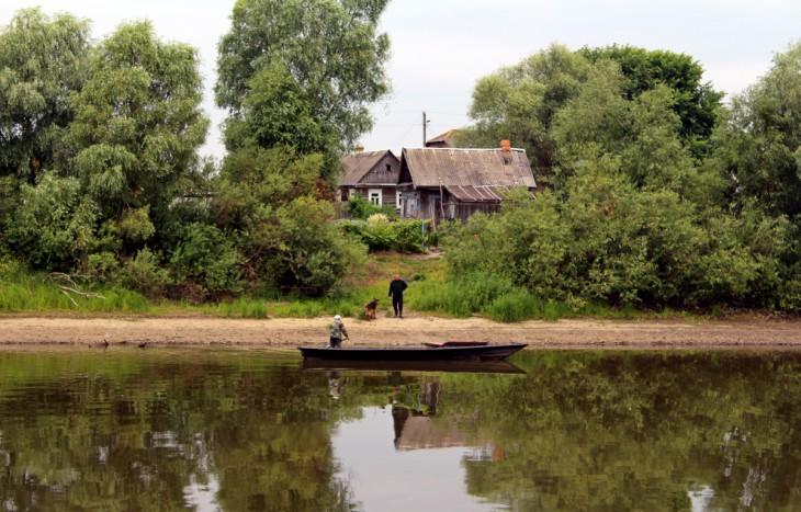 Dzisiaj łodzie są również niezbędnym i bardzo popularnym środkiem transportu w Dawidgródku.