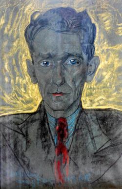 Sergiusz Piasecki. Portret pędzla Witkacego