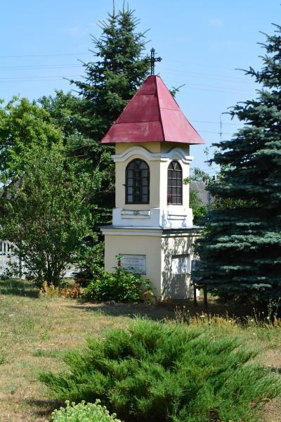 Kapliczka św.Antoniego na przykościelnej posesji