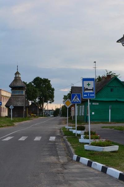 Dzwonnica (1799r.) przy dawnej cerkwi unickiej (nie istnieje) w Szereszowie na dawnym Trakcie Królewskim z Wilna do Krakowa