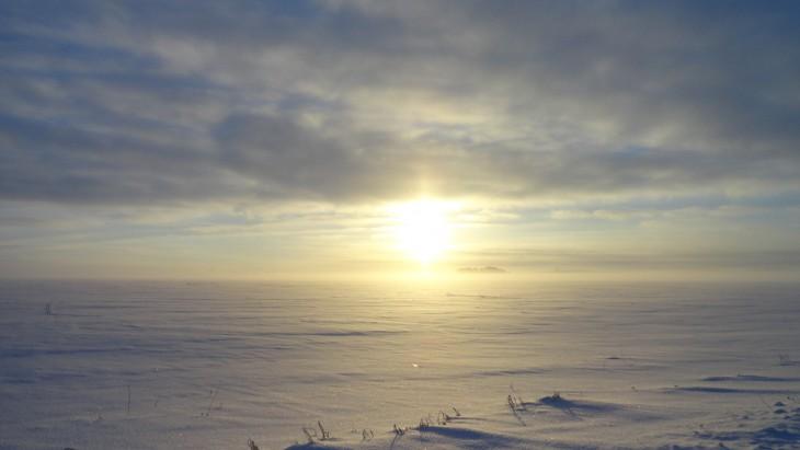 """""""Mroźna mgła"""". Zimowy poranek w ur.Kwasowszczyzna w ok.Prużan"""