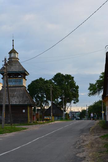 Dzwonnica (1799r.) przy dawnej cerkwi unickiej (nie istnieje) w Szereszewie na dawnym Trakcie Królewskim z Wilna do Krakowa