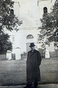 Ks.Albert Bakinowski po powrocie z GUŁAGU