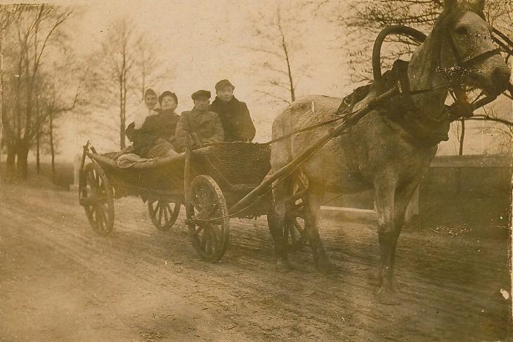 Pojazd tamtych czasów