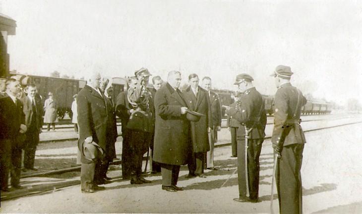 Podczas przyjmowania delegacji
