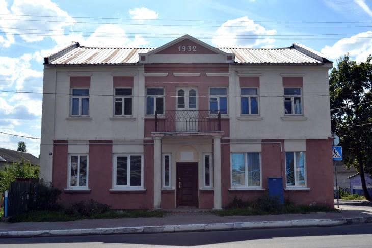 Międzywojenny dom w Wołożynie