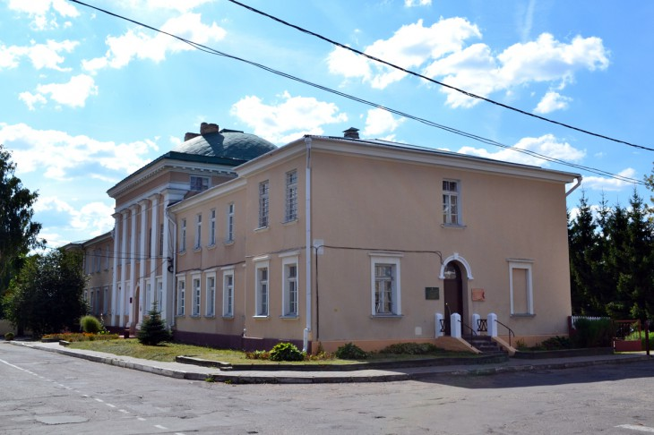 Dawna oficyna pałacu Tyszkiewiczów