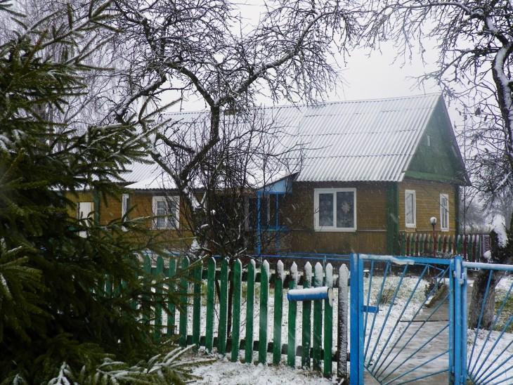 Dom mieszkalny w w. Krupowo, pobudowany z materiału, uzyskanego z rozbiórki siedziby Pileckich