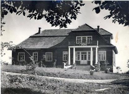 Dwór Widuchowskich przed II wojną światową
