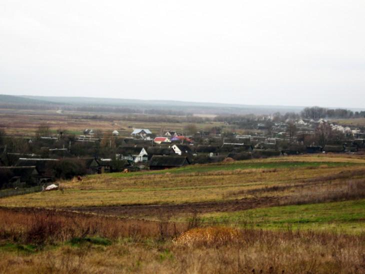 Wieś Podgorna (dawne Hawinowicze). To tutaj rozegrała się tragedia w 1939 r.