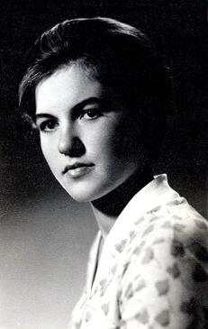 Pani Lidia Romanowicz w wieku 18. lat