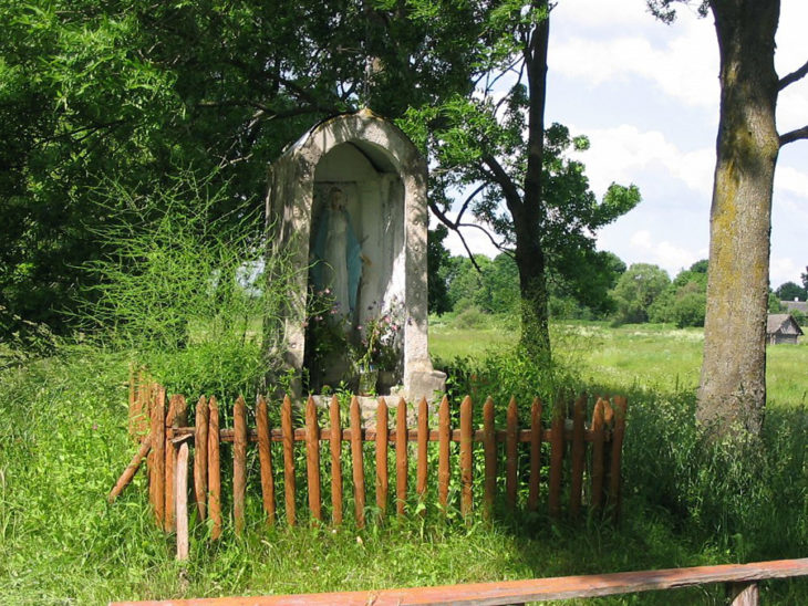 Kaplica przydrożna w Pelegryndzie, rejon ostrowiecki // Foto Andrzej Dybowski