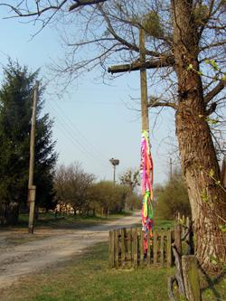 Krzyż w Swałowiczach // Foto Aliaksiej Dubrouski