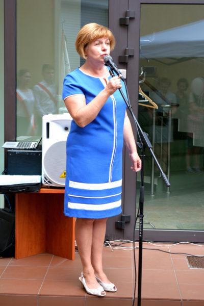Pani Alina Jaroszewicz – założycielka i dyrektor PSS im. I.Domeyki