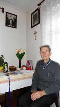 Pan Hipolit Szot w swoim domu