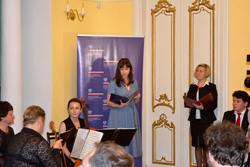 Konsul KG RP w Brześciu pani Anna Domska-Łuczak