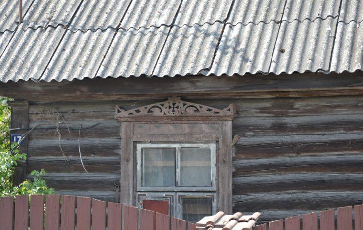 Krzyż z koroną (dom przy ulicy Jeziornej)