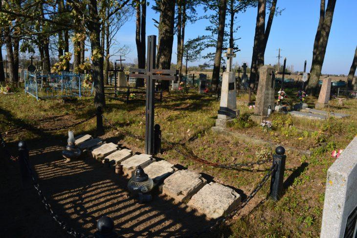 Cmentarz w Kosowie. Kwatera żołnierzy rosyjskich, węgierskich oraz WP