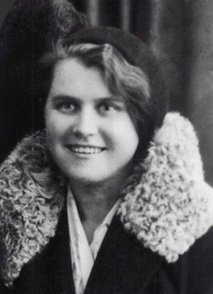 Emilia Kozłowska. 1933 lub 1934 r.