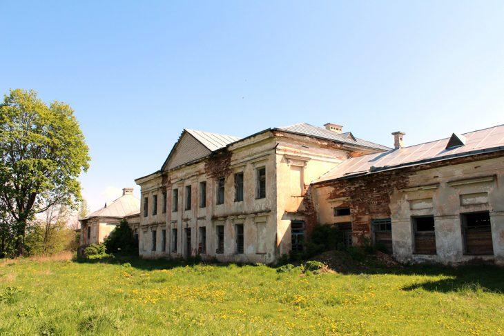 Pałac od strony ogrodu